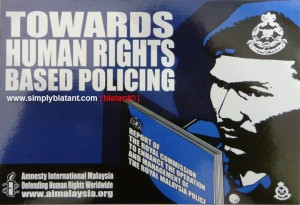 Towards Human Rights based policing
