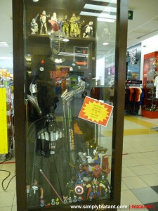 Area51 displaycase @ 1-Utama