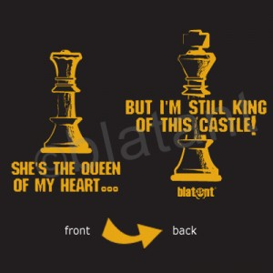 but I\'m still king of this castle